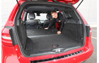 Mercedes B-Klasse, Kofferraum, Sitz umklappen