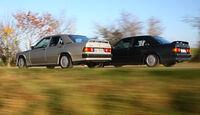 Mercedes-Benz 190 E 2.3-16, Mercedes-Benz 190 E 2.5-16 - Fahraufnahme seitlich