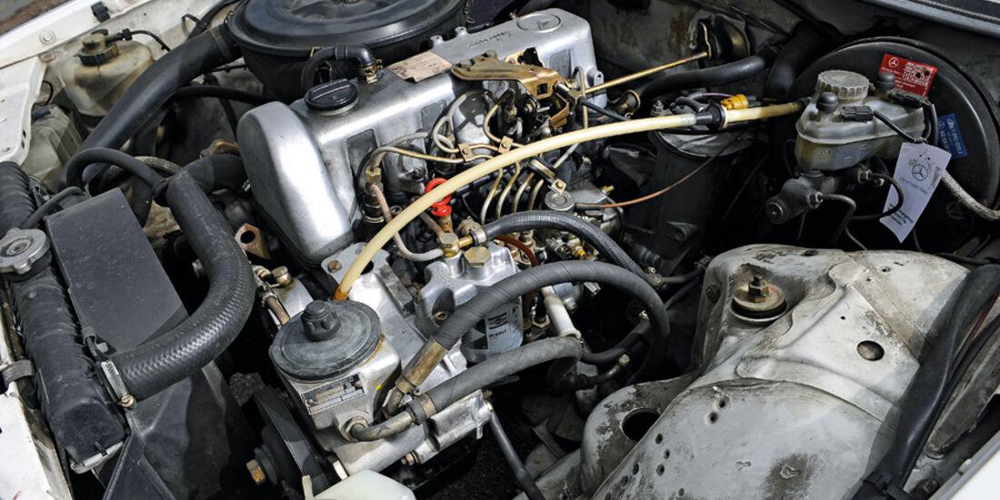 Mercedes-Benz 240 TD, Motor