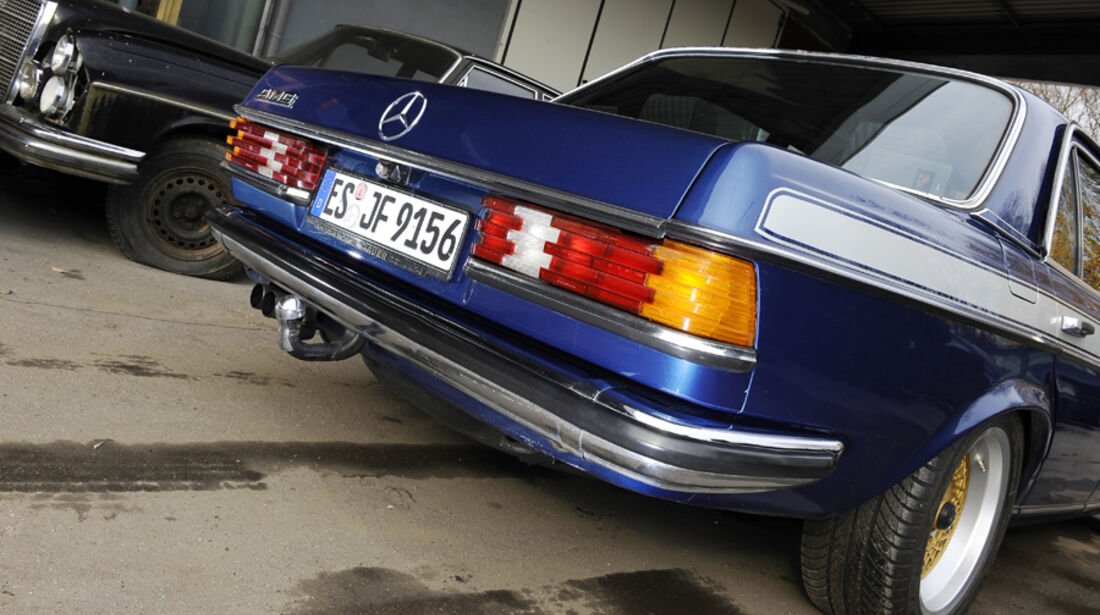 Mercedes- Benz 280 E AMG, Detail, Heck