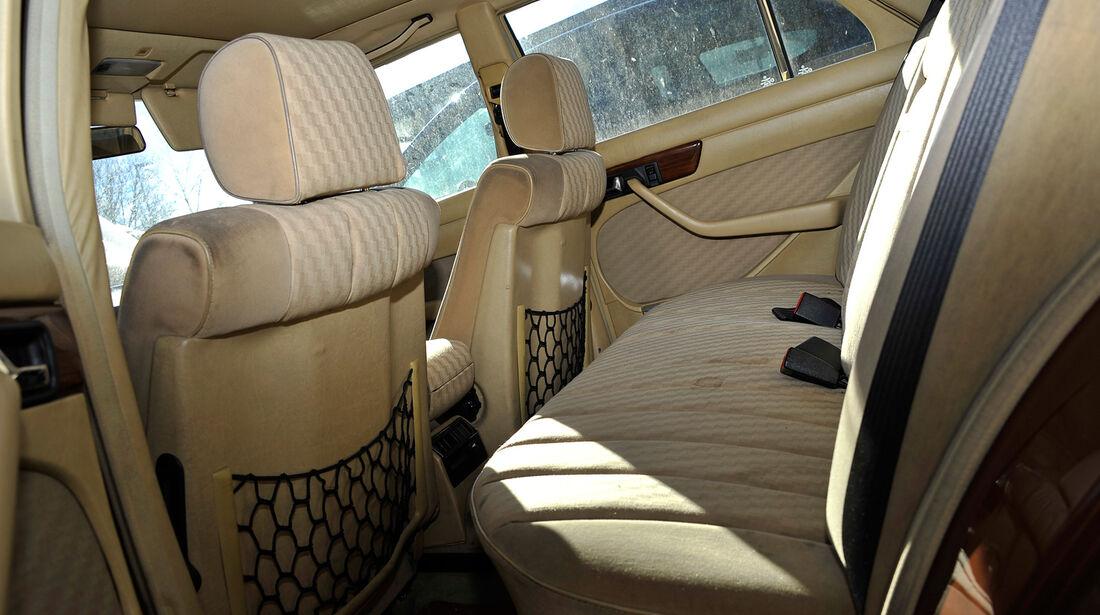 Mercedes-Benz 280 SE, Interieur