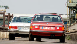 Mercedes-Benz 350 SE, BMW 730