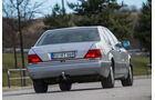 Mercedes-Benz 400 SEL, Heckansicht