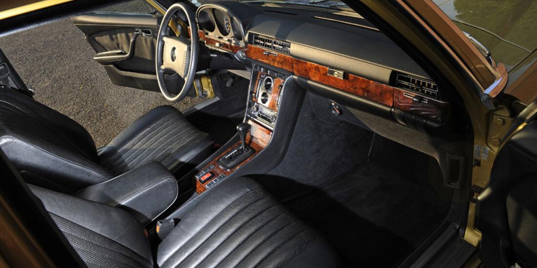 Mercedes-Benz 450 SEL 6.9, W 116, Baujahr 1977 Innenraum