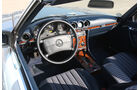 Mercedes-Benz 500 SL (R 107), Cockpit