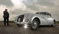 Mercedes-Benz 540 K Stromlinienwagen, Seitenansicht
