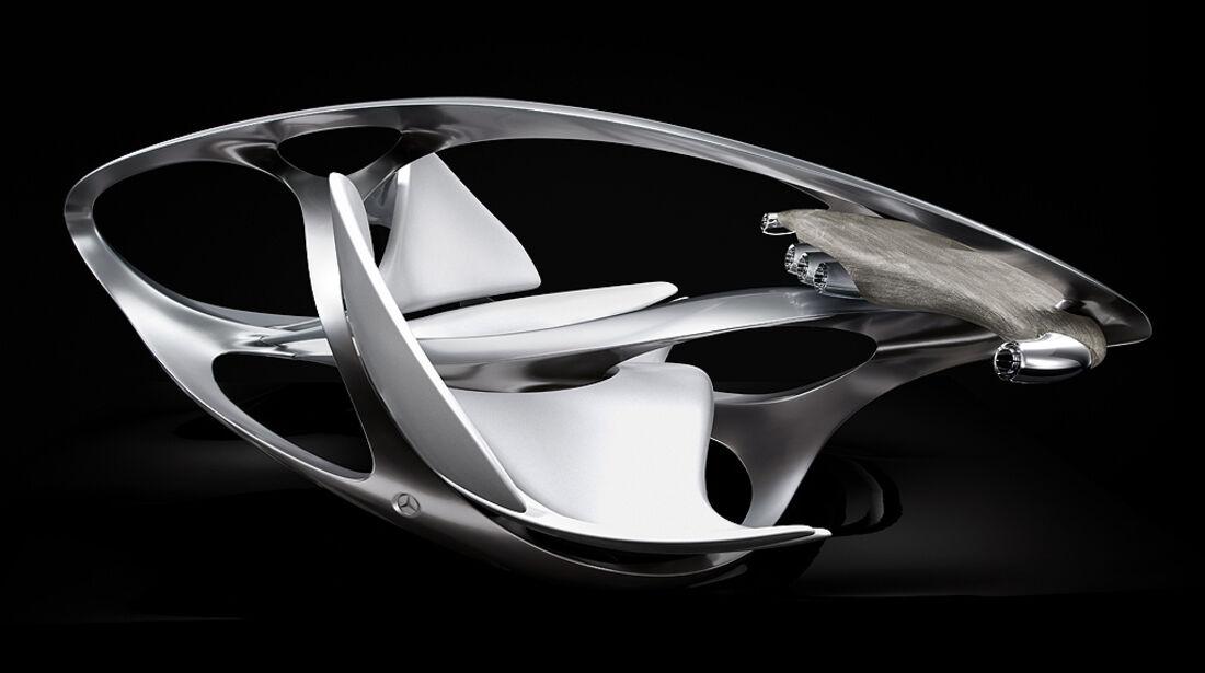 Mercedes-Benz Aesthetics No.2, Innenraumstudie