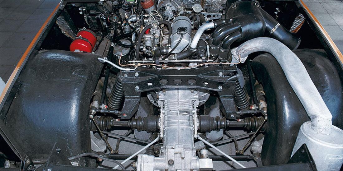 Mercedes-Benz C 111 Motor