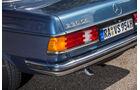 Mercedes-Benz C123, Heck