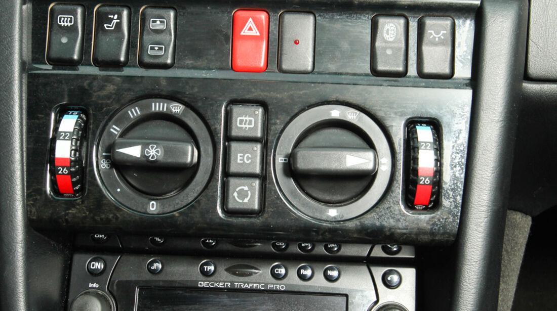 Mercedes-Benz E 500, Mittelkonsole