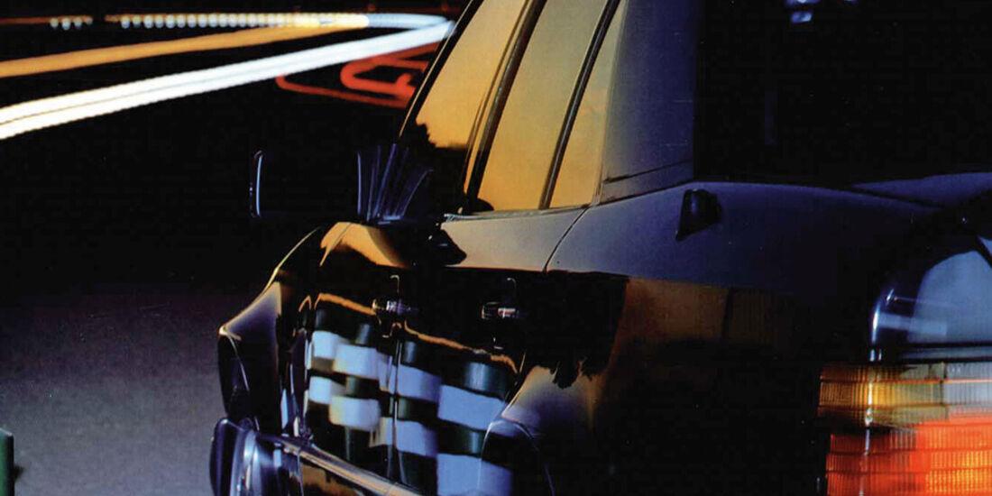 Mercedes-Benz E 500, Seitenlinie, Rückleuchte