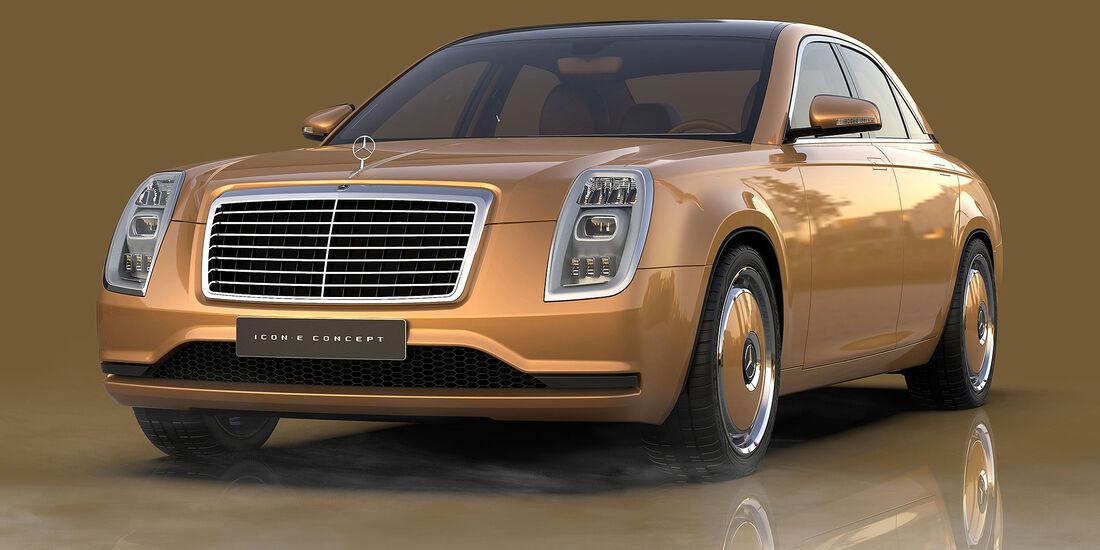 Mercedes-Benz Icon E Concept Exterieur