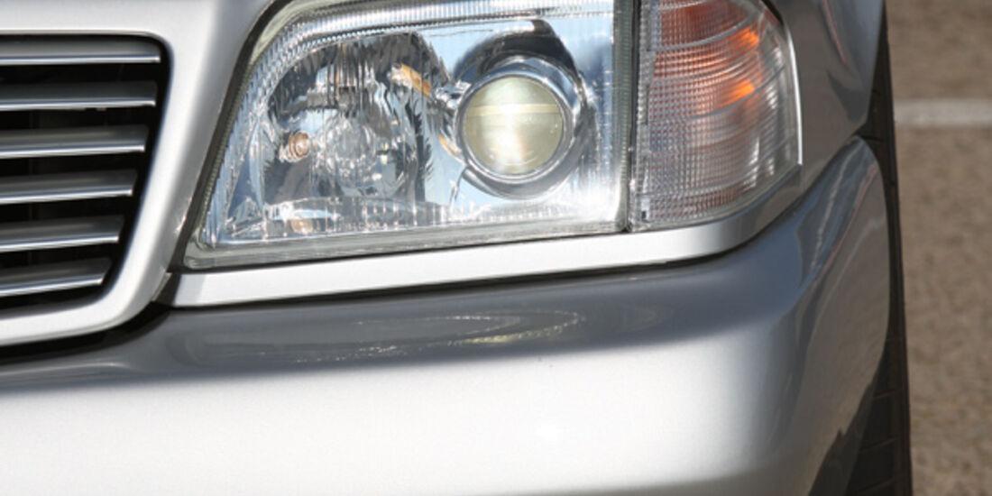 Mercedes-Benz SL 500  (R 129), Scheinwerfer