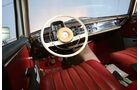 Mercedes-Benz W110, Cockpit, Lenkrad