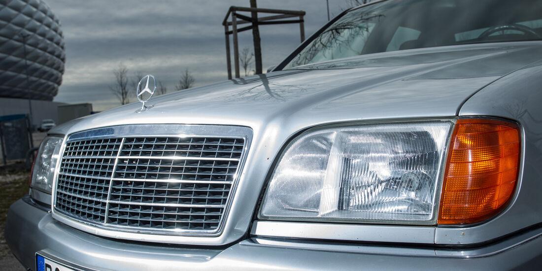 Mercedes-Benz W140, V8/V12, Kühlergrill