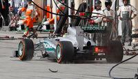 Mercedes - Boxenstopp - Formel 1 2013