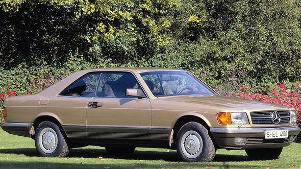 Mercedes C 126 Erste Serie
