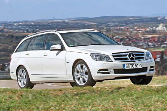 Mercedes C 180 CGI T-Modell, Frontansicht
