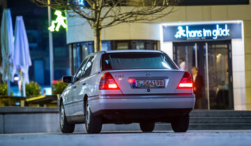 Mercedes C 180, Heckansicht