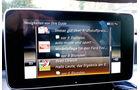 Mercedes C 250 Bluetec, Bildschirm, Infotainment