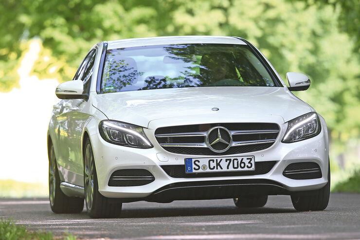 Mercedes C 250 Bluetec, Frontansicht