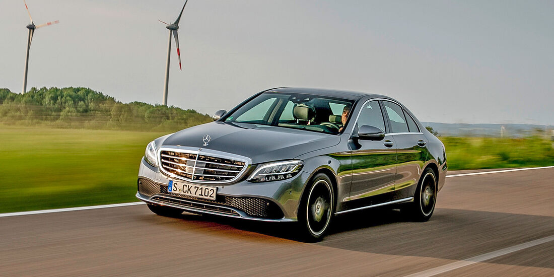 Mercedes C 300 - Serie - Limousinen bis 50000 Euro - sport auto Award 2019
