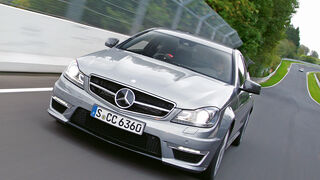 Mercedes C 63 AMG Coupé Performance Package, Frontansicht