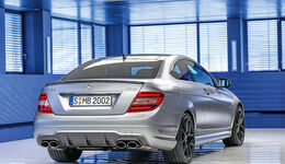 Mercedes C 63 AMG Coupé Performance Package, Heckansicht