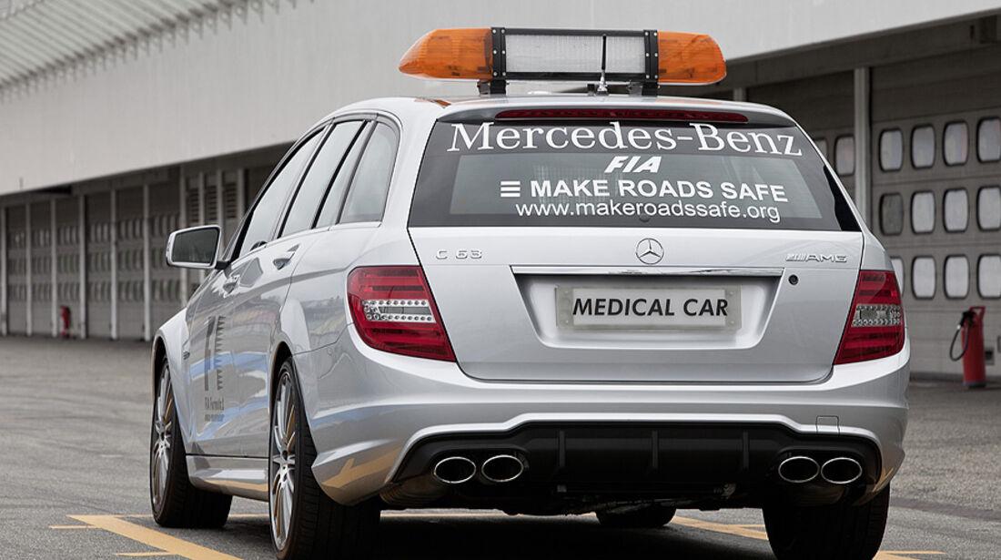 Mercedes C 63 AMG T-Modell Safety Car Medical Car
