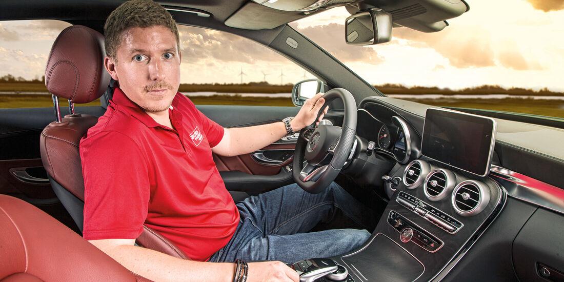 Mercedes C-Klasse, Cockpit, Jens Dralle
