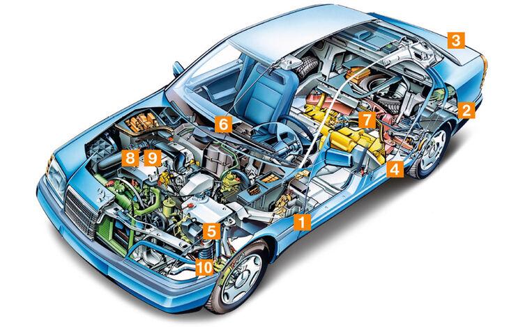 Mercedes C-Klasse, Schwachpunkte, Igelbild
