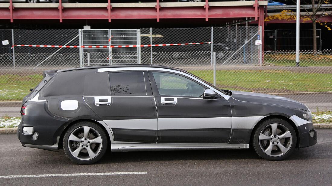 Mercedes C-Klasse T-Modell Erlkönig