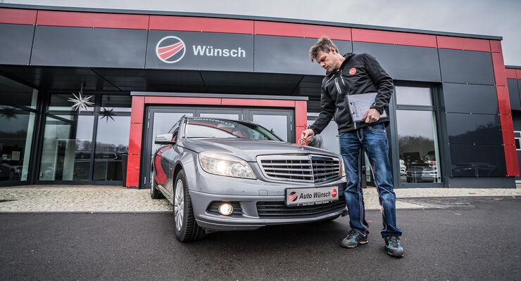 Mercedes C-Klasse W204, Gebrauchtwagen-Check, asv0618