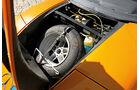 Mercedes C111, Ersatzrad