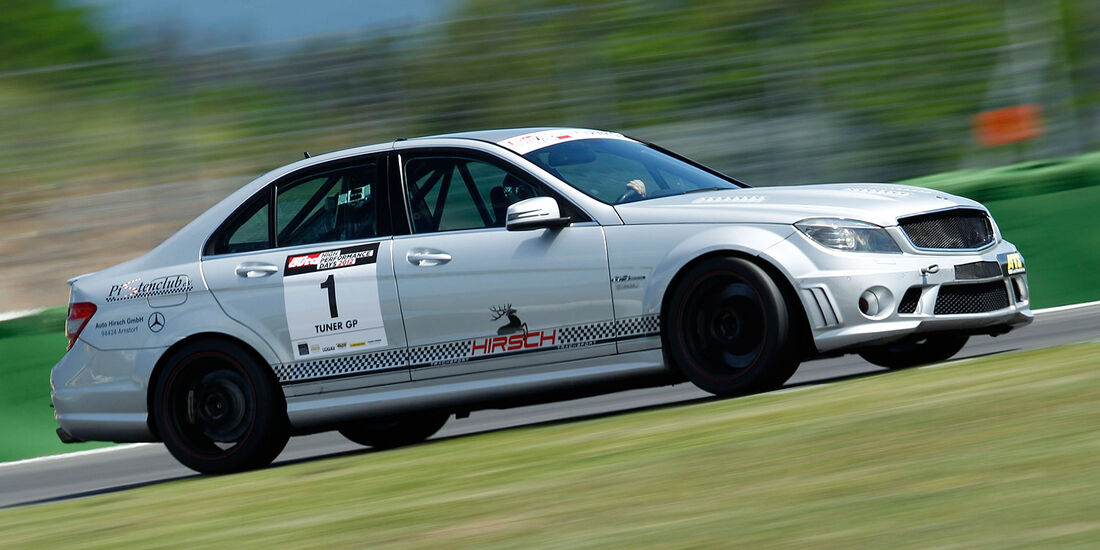 Mercedes C63 AMG, TunerGP 2012, High Performance Days 2012, Hockenheimring