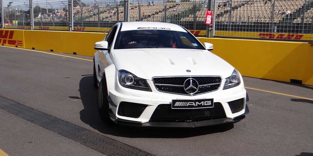 Mercedes C63 - GP Australien - Melbourne - 16. März 2012