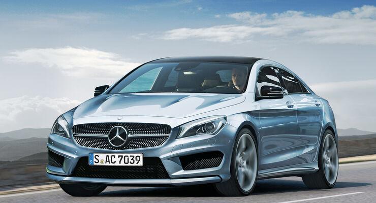 Mercedes CLA, Frontansicht