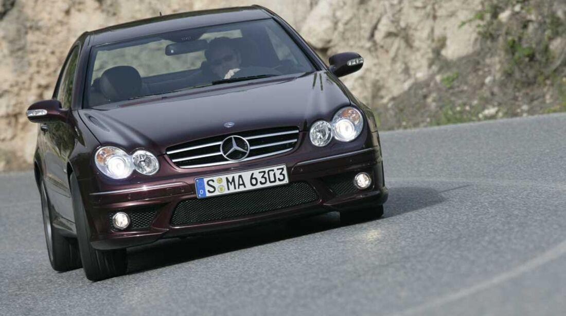 Mercedes CLK 63 AMG Coupe 03