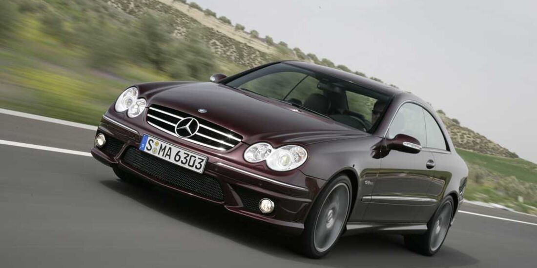 Mercedes CLK 63 AMG Coupe 10