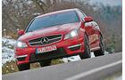 Mercedes CLK 63 AMG, Frontansicht