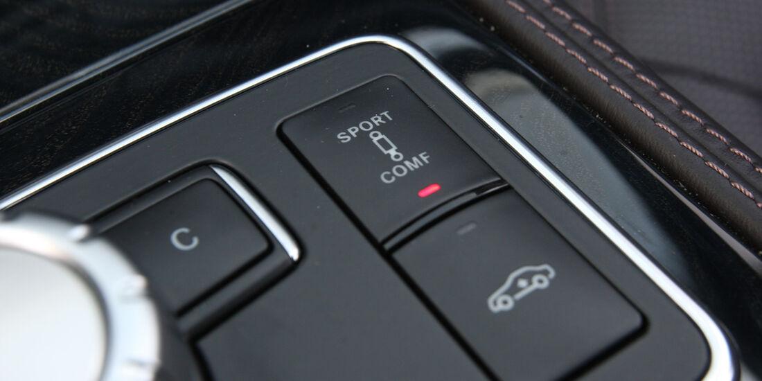 Mercedes CLS 350, Bedienelemente