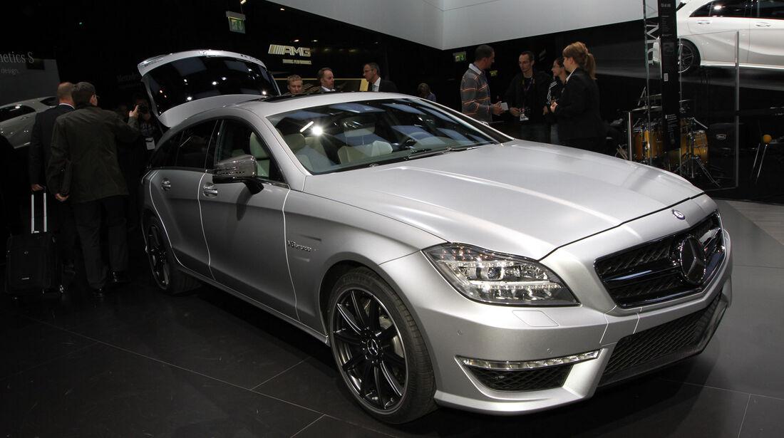 Mercedes CLS 63 AMG Shooting Brake, Messe, Autosalon Paris 2012