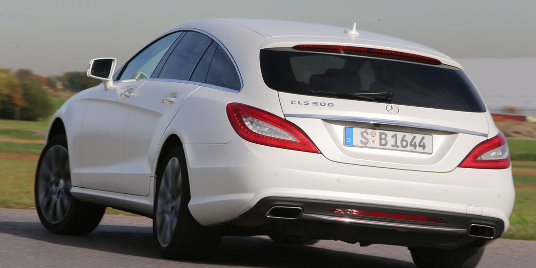 Mercedes CLS Shooting Brake, Heckansicht
