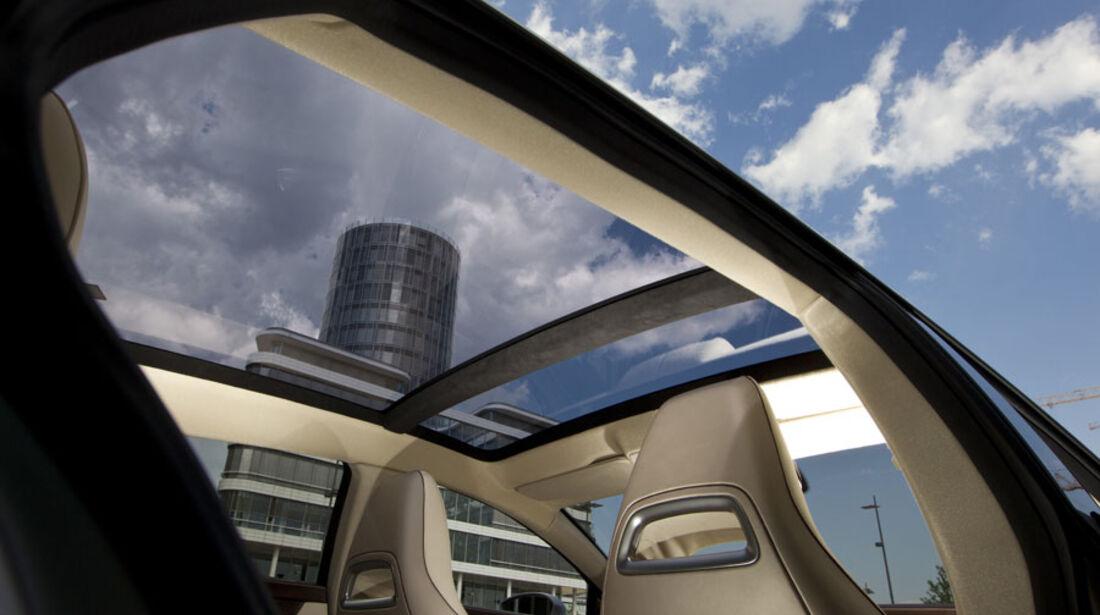 Mercedes CLS Shooting Break, Panoramadach