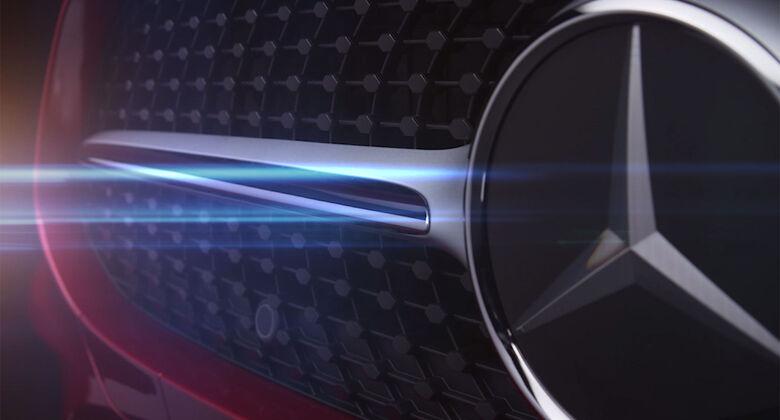 Mercedes CLS Teaser