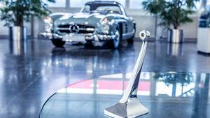 Mercedes Classic 3D-Druck Holzzierteile