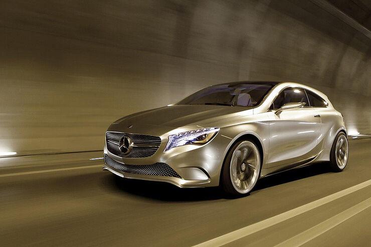 Mercedes Concept A, A-Klasse-Studie