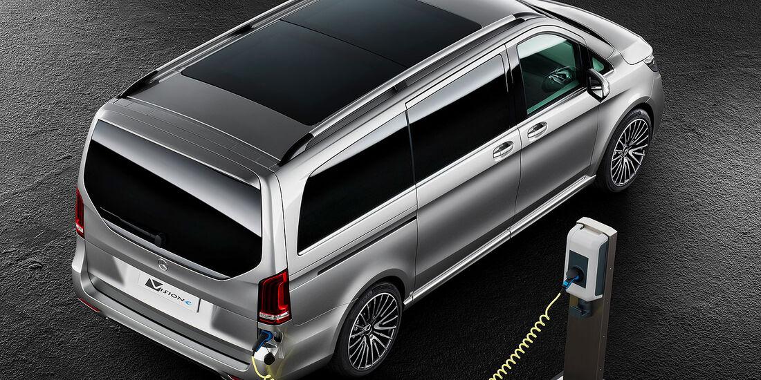 Mercedes Concept V-ision e V-Klasse
