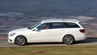 Mercedes E 200 T, Seitenansicht