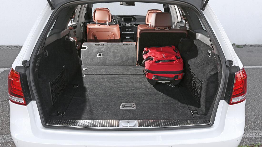 Mercedes E 220 Bluetec T, Kofferraum